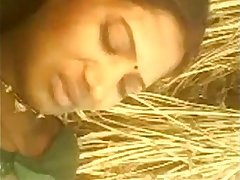 Indian young Hot Bhabhi Saree Pulled Up And Fucked in Backside yard in Village - Wowmoyback